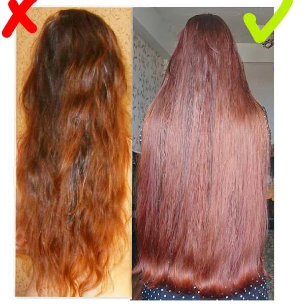 Окрашивание волос хной: фото до и после, отзывы, цена в ...