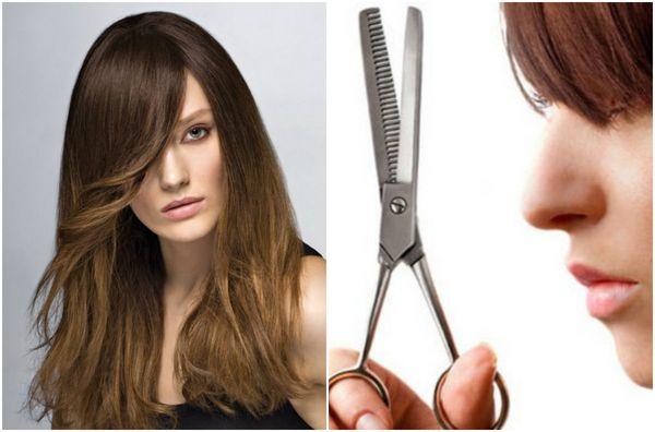 Филировка волос:что это такое, фото до и после на челку ...