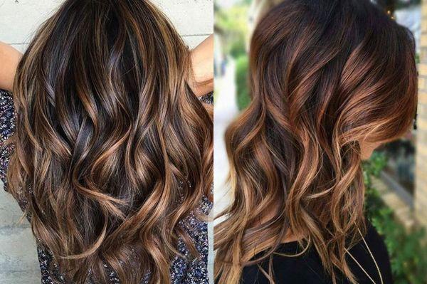 Svårt färgning på mörkt hår