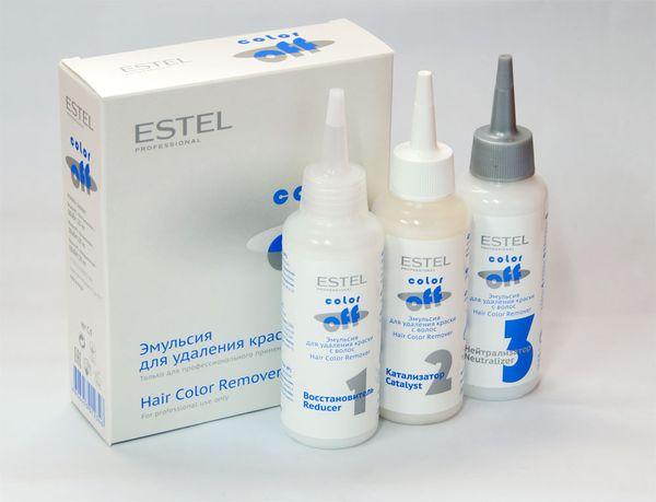 Смывка Эстель колор Офф (Estel Color Off ) - инструкция по ...