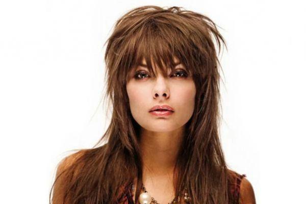 Каскад без челки на длинные волосы: стрижка на прямые и ...