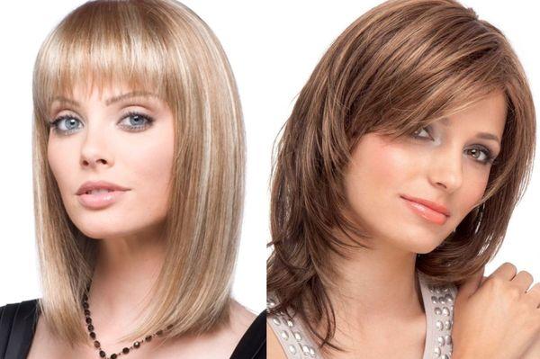 Женские стрижки на средние волосы: модные и стильные ...