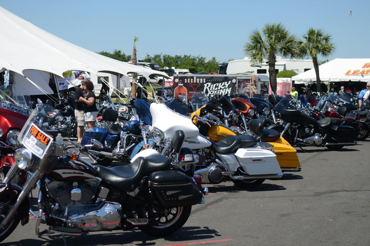Thunder Beach Motorcycle Rally In Panama City Beach