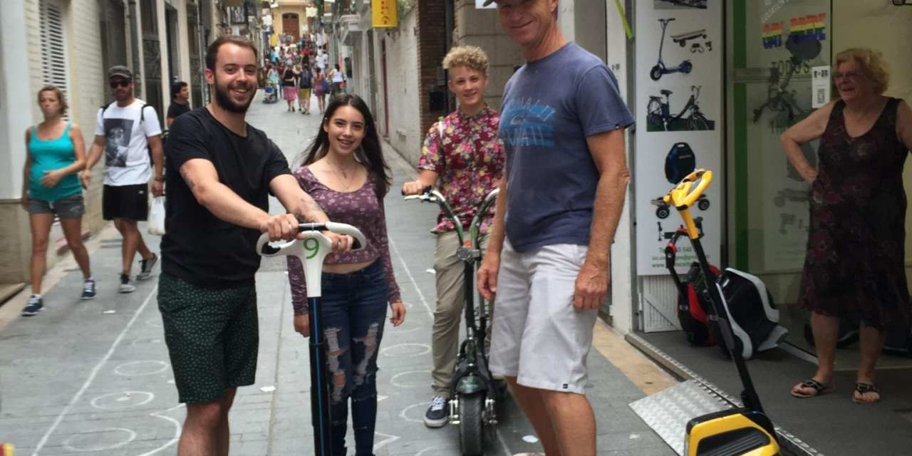 Sitges, Spain, Let's Ride,but First the Antipope of Peniscola