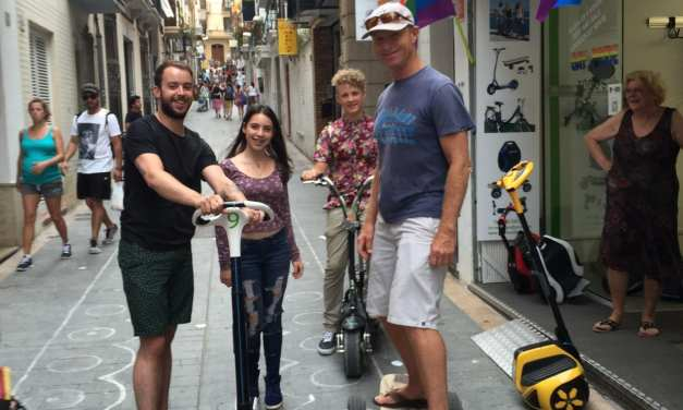 Sitges, Spain, Let's Ride, but First the Antipope of Peniscola