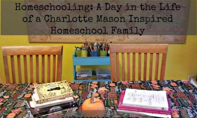 A Day in the Life: Emily's Charlotte Mason Inspired Homeschool