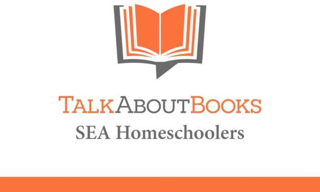 Book List: SEA Homeschoolers Teen Book Club 2017/2018