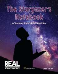 Stargazing Unit Study, based on The Stargazer's Notebook by Blair Lee, MS. Secular astronomy curriculum, astronomy unit study