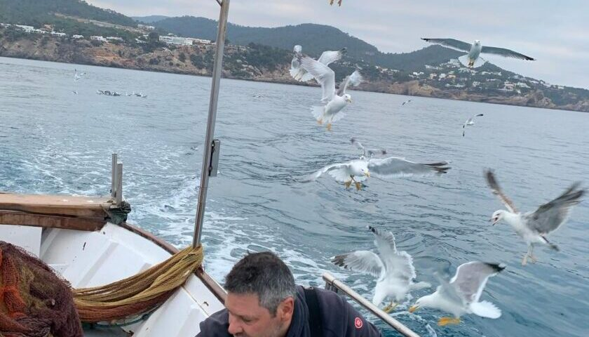 Tradicional fishing in Ibiza