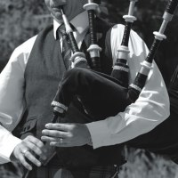 Bagpipes at Sundown