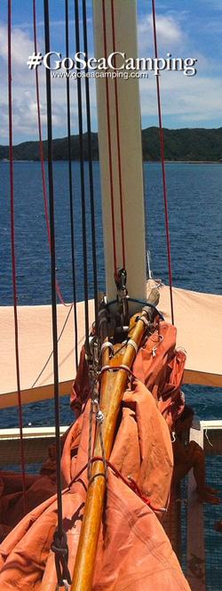 Tiare ready to sail - GoSeaCamping