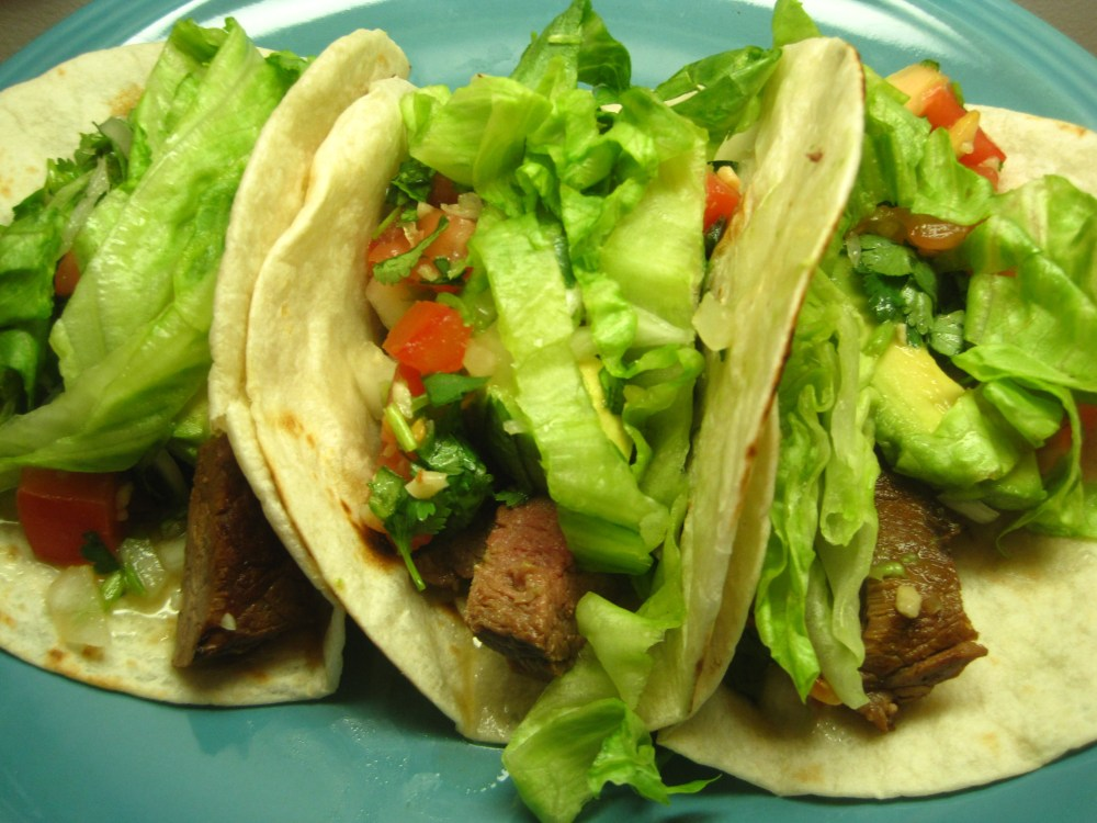 Southern California-Style Steak Tacos (1/5)