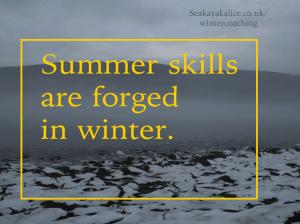 Winter coaching series