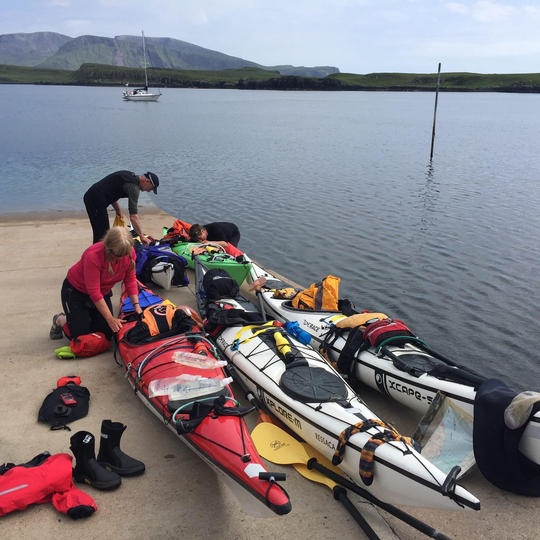 Wild camping kit list for sea kayakers - Sea Kayak Alice
