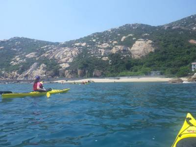 sea kayak hong kong southern lamma tour
