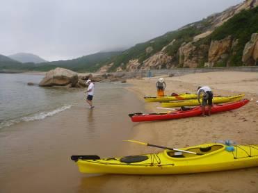 visit remote beaches
