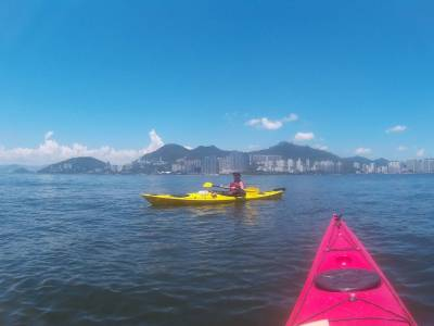 sea kayak north lamma island tour