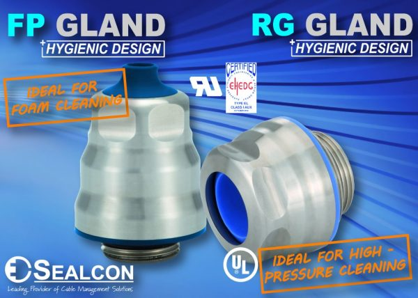We Have Hygienic Glands for Food Processing!