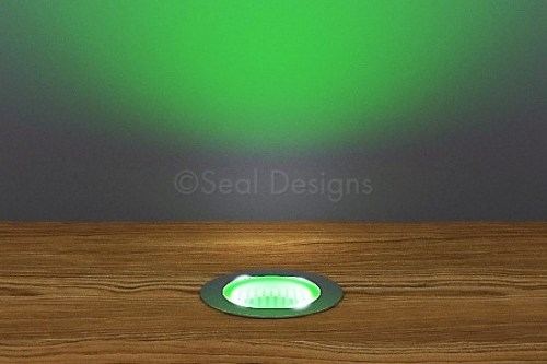 10 x 30mm Kit – Green Stainless Steel Round Bezel