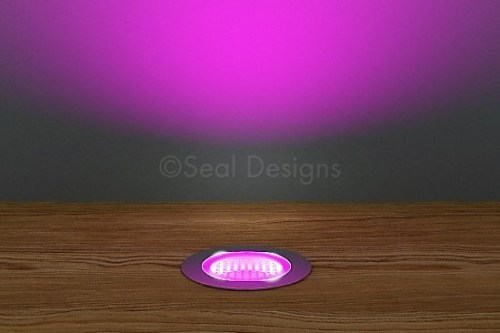 10 x 30mm Kit – Pink Stainless Steel Round Bezel