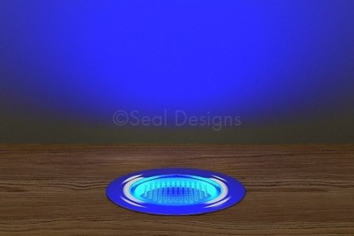 10 x 45mm Kit – Blue Stainless Steel Round Bezel