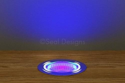 10 x 45mm Kit – Ultra Violet Stainless Steel Round Bezel