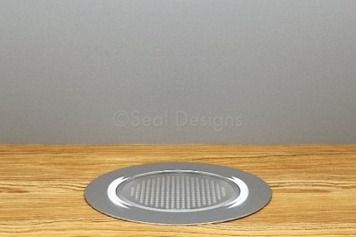 10 x 60mm Kit – Blue Stainless Steel Round Bezel
