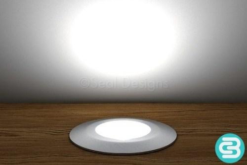316 Grade Deck Light – White