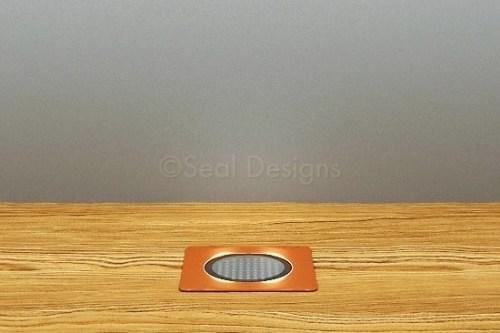 10 x 30mm Kit – Blue Copper Square Bezel