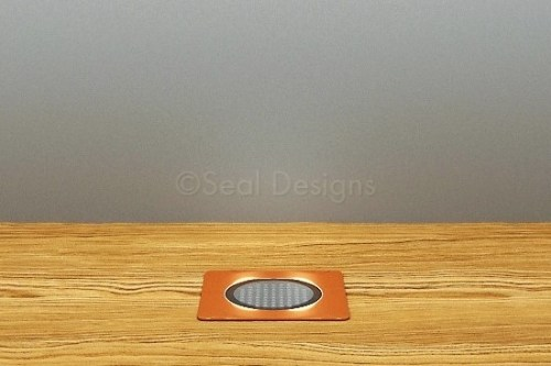 10 x 30mm Kit – Blue Copper Square Bezel