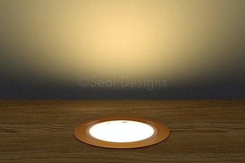 10 x 45mm Kit – Warm White Copper Round Bezel