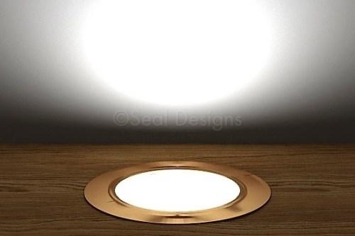 10 x 60mm Kit – White Copper Round Bezel