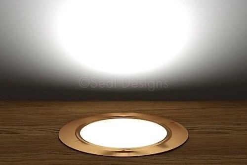 10 x 60mm Kit – White Copper Round Bezel