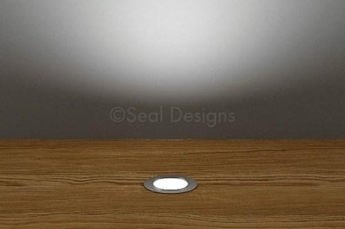 10 x 18mm Kit – White Stainless Steel Round Bezel