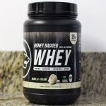 honey badger whey protein