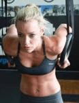 crossfit rings - garage gym ideas