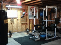 How to build your garage gym if you broke