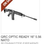 Bushmaster QRC vs Ruger AR-15