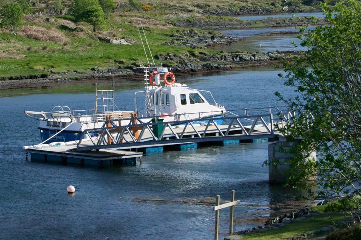Sealife Adventures boat with wheelchair access for wildlife watching trips