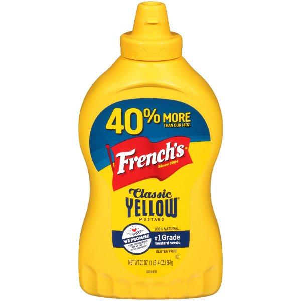 French's Mustard bottle