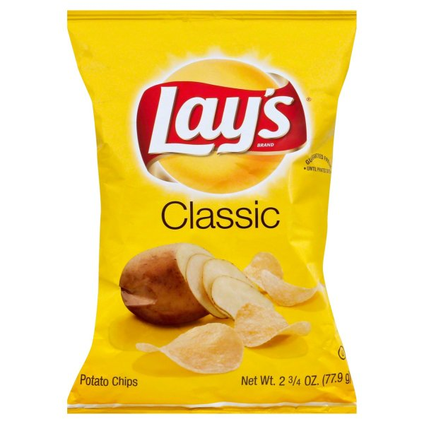 Bag of Lay's chips