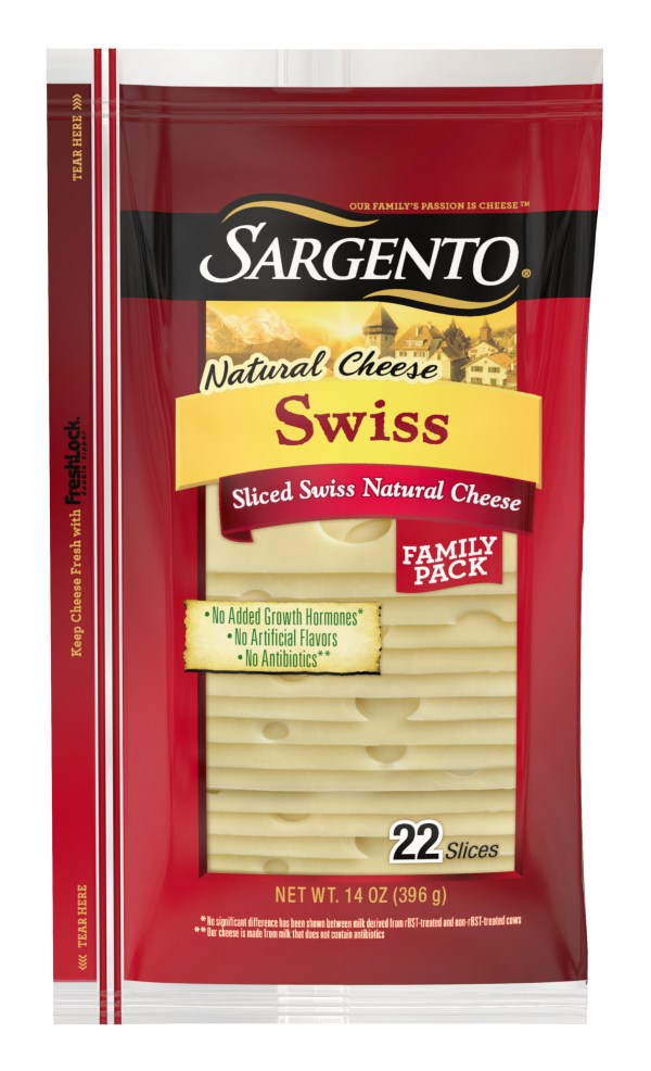 Sargento® Sliced Baby Swiss Natural Cheese