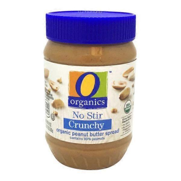 O Organics Crunch Peanut Butter