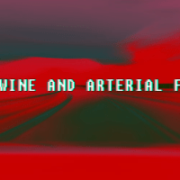 Stories in Short #21 (Red wine and arterial fluid)