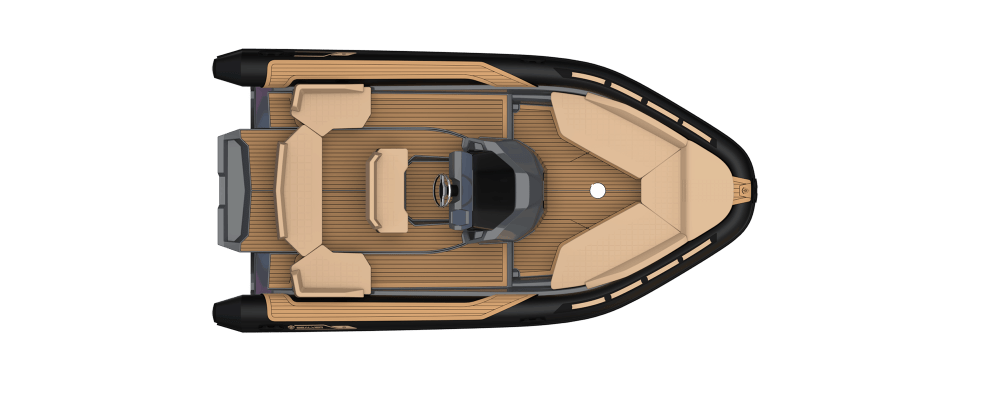 Premium Sealver waveboat ZLINE Z6 HYBRIS MEDIUM, premium tender, fun tender, annexe, tender, annexe fun, boat comfort, luxuous, design, sport