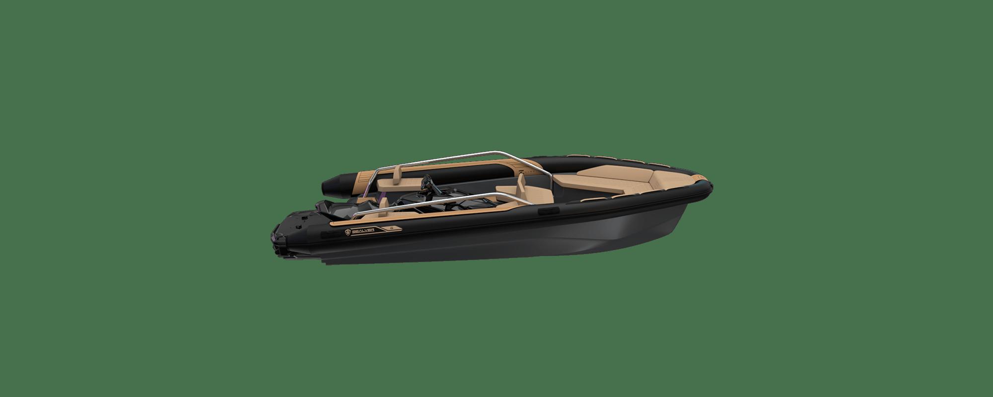 Premium waveboat ZLINE Z6 HEVO MEDIUM, premium tender, fun tender, annexe Jetski, jetski tender, annexe fun, bateau jet