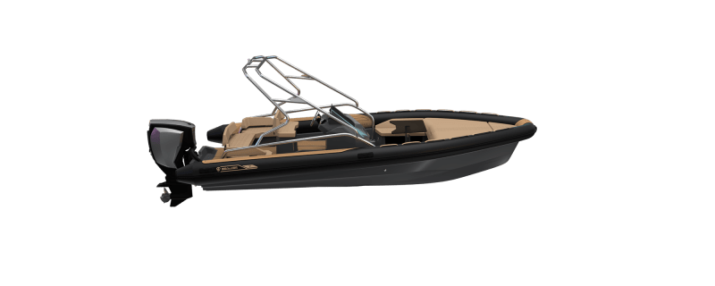 Premium waveboat ZLINE Z7 HYBRIS Hors Bord Outboard