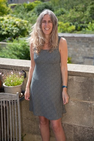 David, Bath, 2015 - I bought this dress for Penny in Covent Garden in 1995 when we first started dating and she still looks great in it 20 years later.