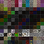 Seamless alien textures