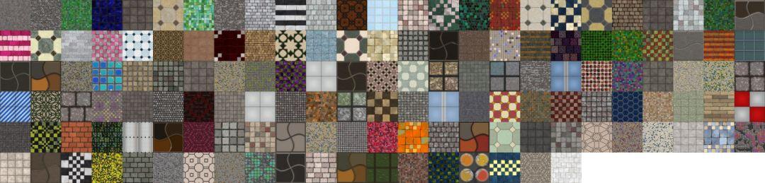 Textures Unleashed Volume 27: Tiles II
